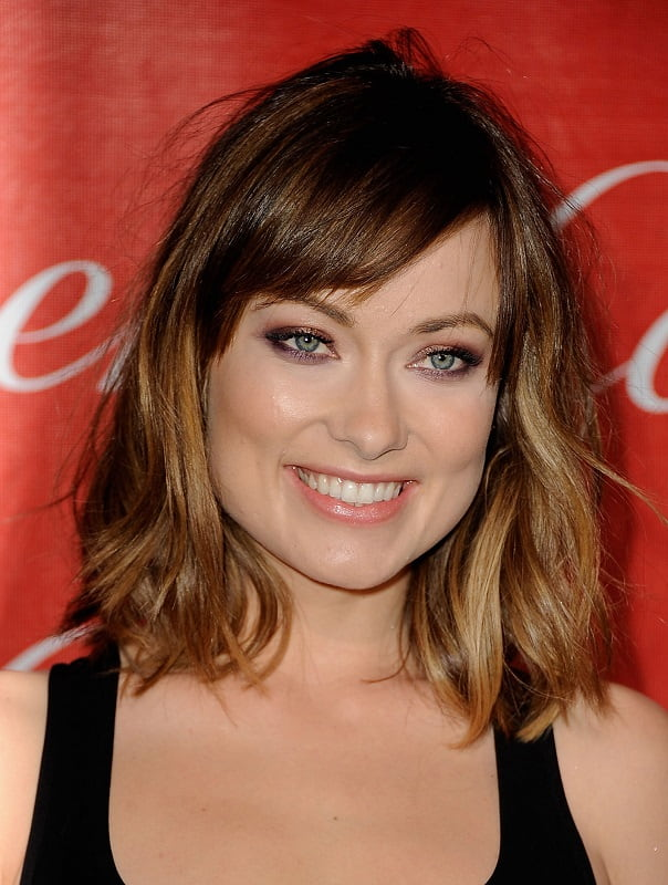 Short Ombre Hair with Side Bangs