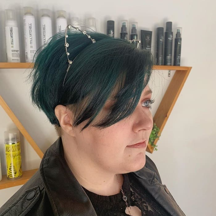 Pixie Cut for Round Chubby Face