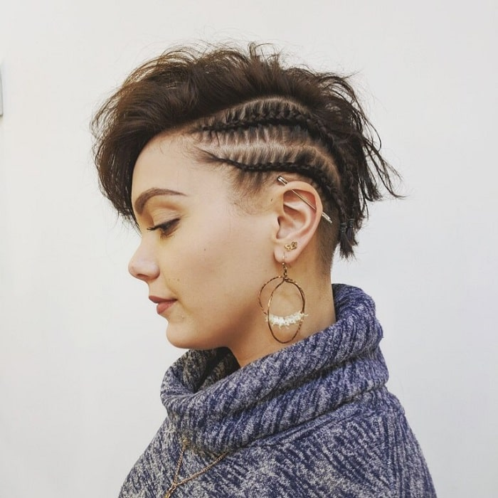Braids for Very Short Hair