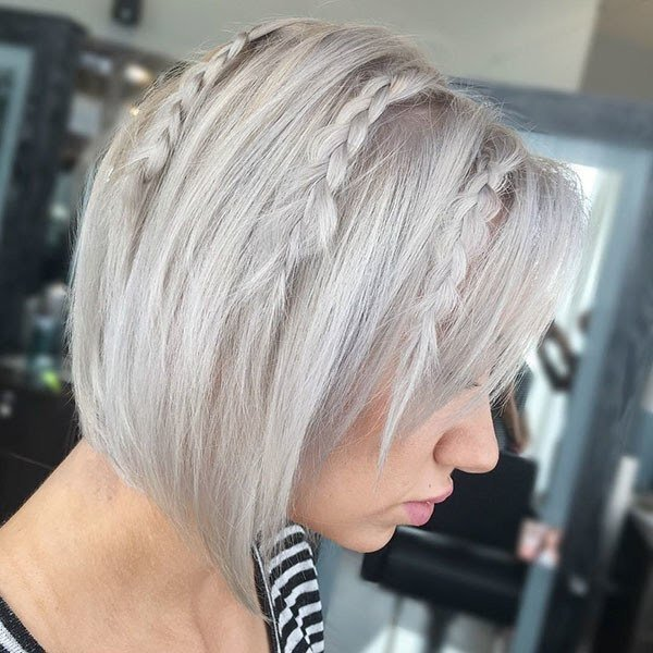 Braids for Short Layered Hair