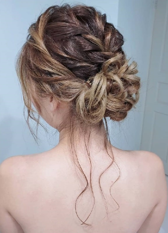 Wedding Messy Bun