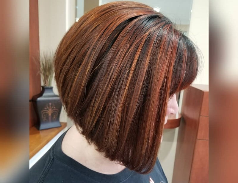 Rounded Stacked Bob