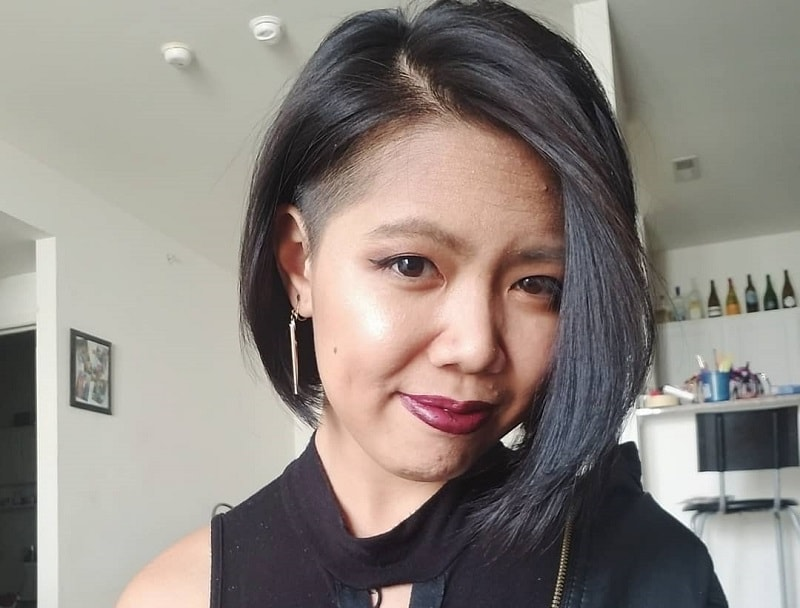 Stacked Bob with Undercut