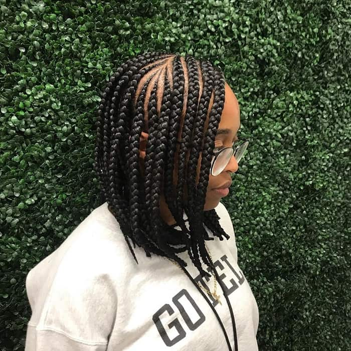 Braiding Short Hair for Sew In