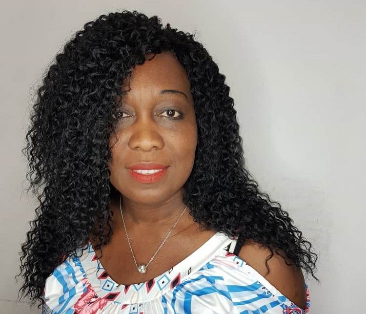 Long Curly Hair for Woman Over 50