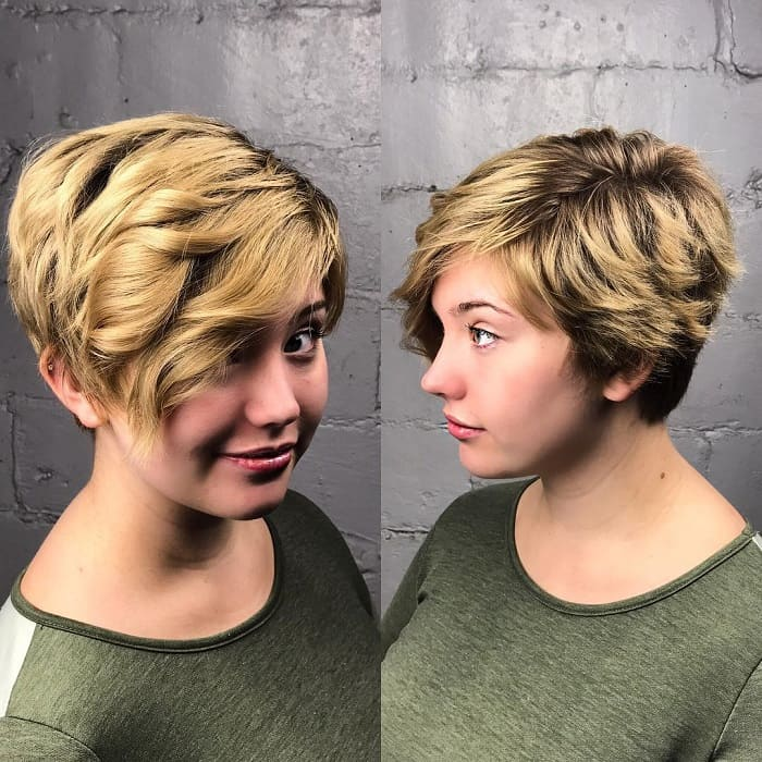 pixie-for-round-face
