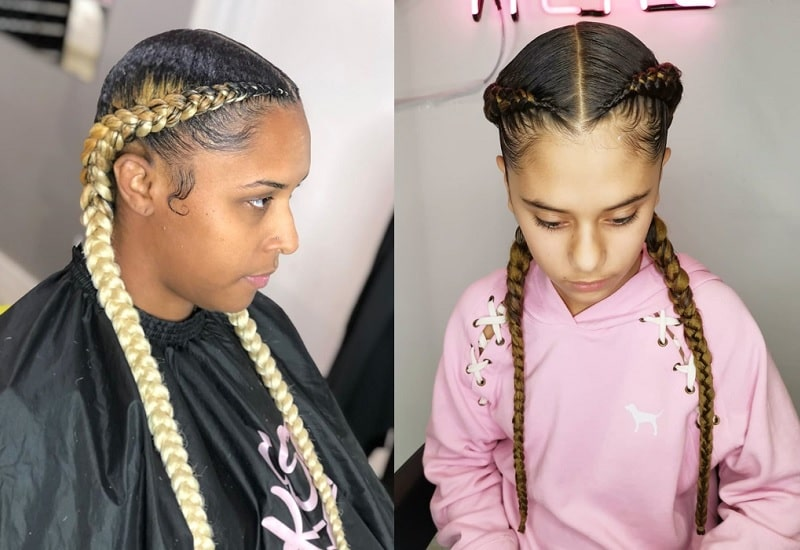 Braids with Weave