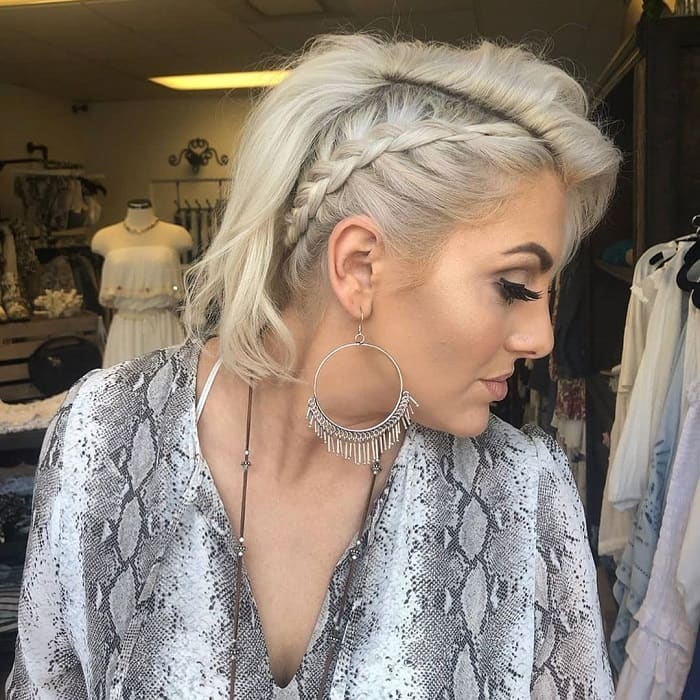 Braids for Short Blonde Hair