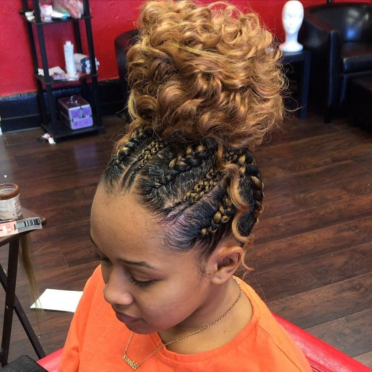 Curly Braids for Long Hair