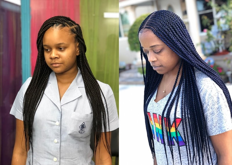 Braids with Weave for Black Girl