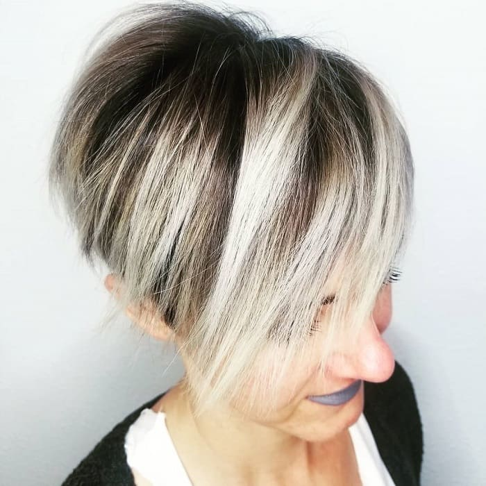 Blonde Ombre Pixie