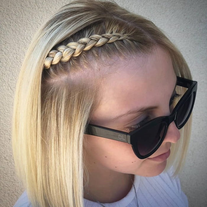 Braids for Short and Straight Hair