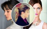 the best ponytail hairstyles with bangs