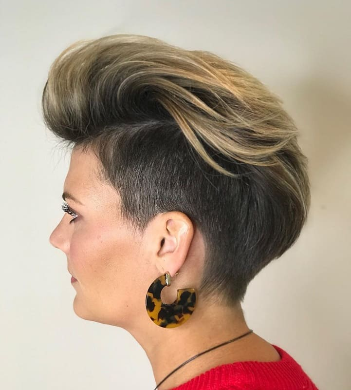 Two-toned Undercut Pixie