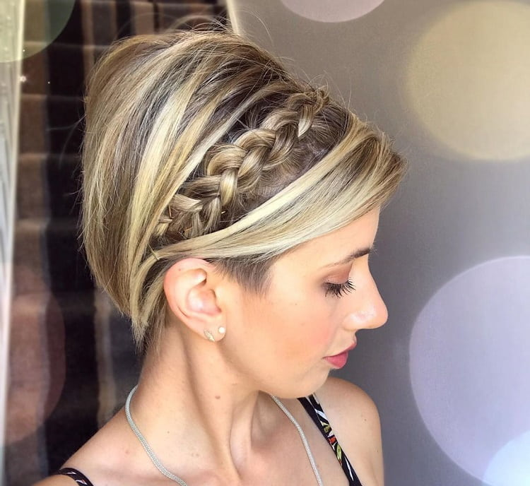 Long Pixie Braid