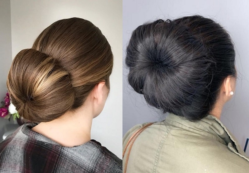 23 Trendiest Sock Bun Hairstyles For 2020 Styledope