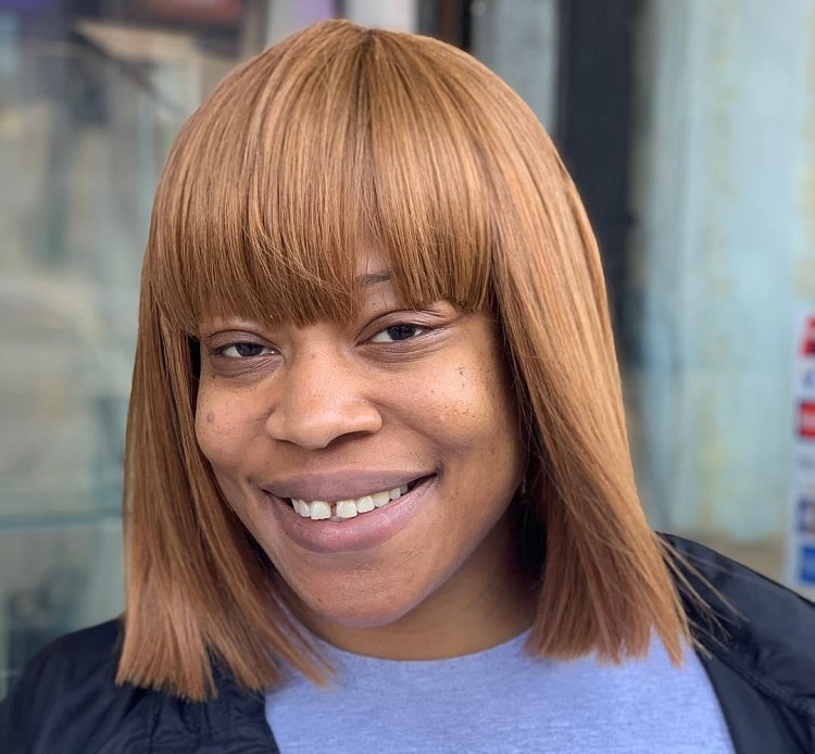 Blunt Bob with Weave