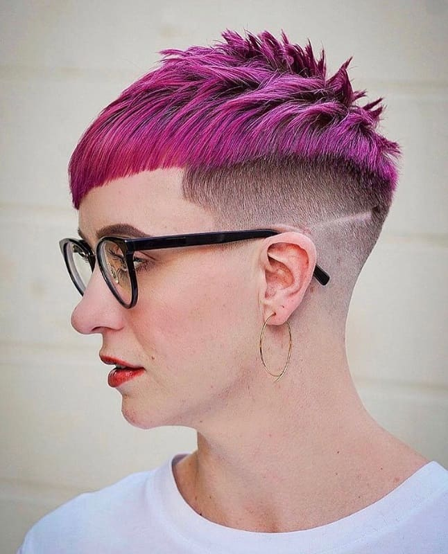 Very Short Undercut Pixie