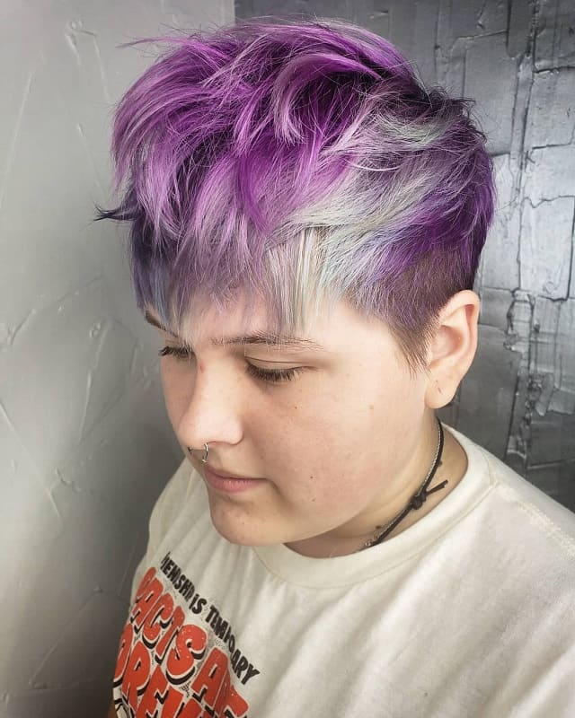 Messy Pixie Cut for Thick Hair