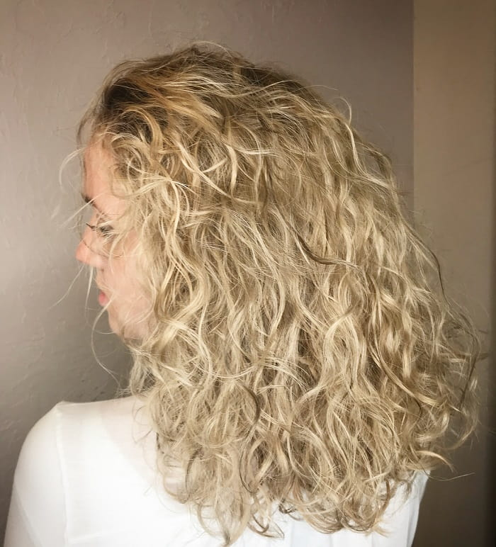 Lowlights For Blonde Curly Hair