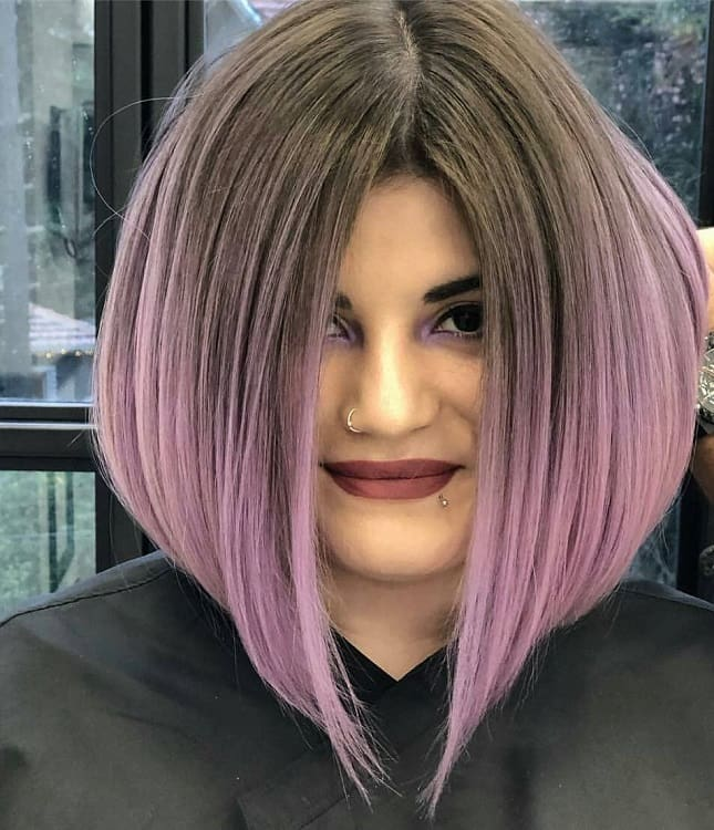 A-Line Bob with Ombre