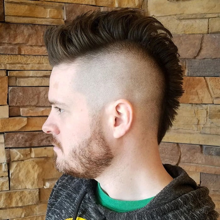 Mohawk with High Fade