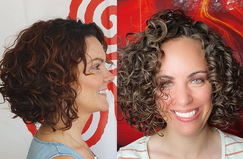 Layered Curly