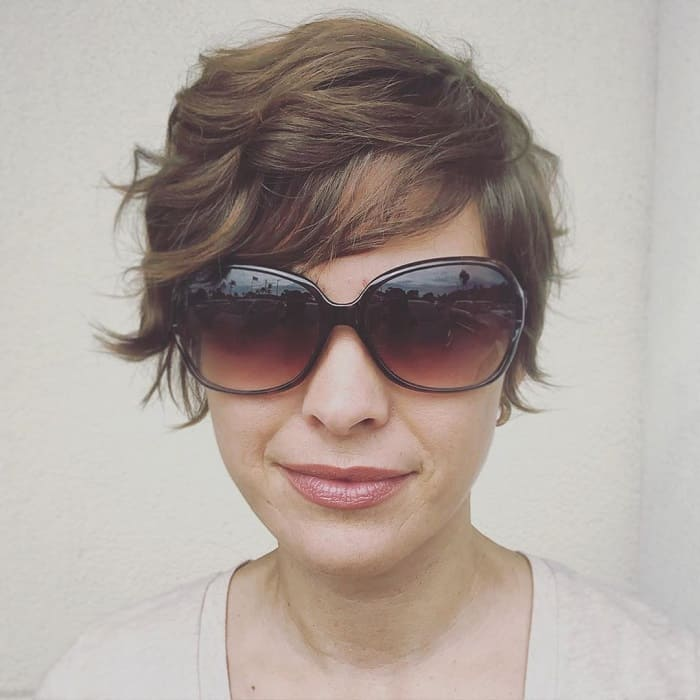 Pixie Cut for Oval Face and Thin Hair