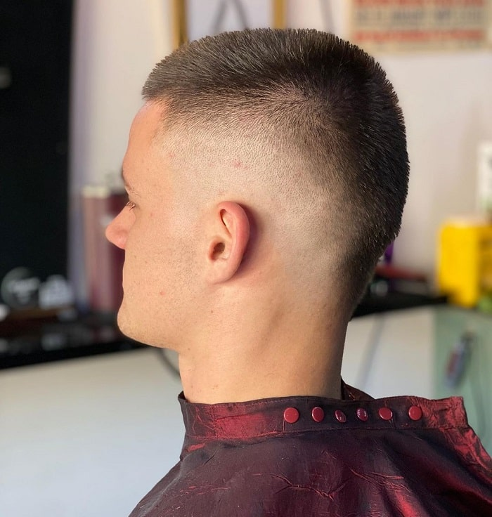 Short Mohawk with Fade
