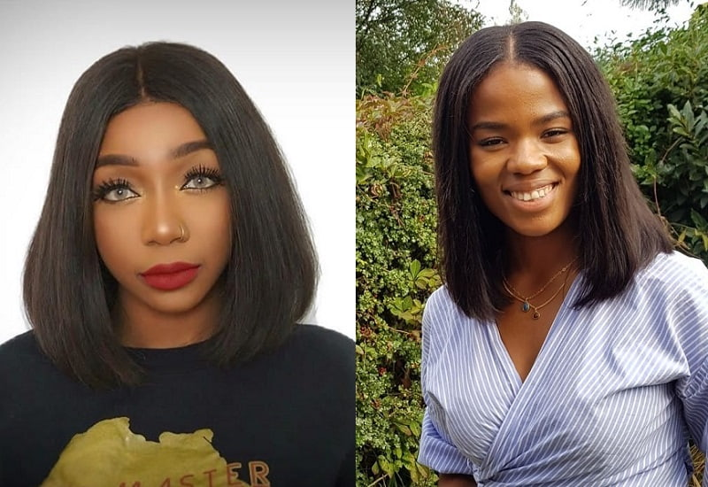 Long Bob with Weave