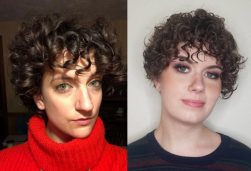 Natural Curly Pixie Hair