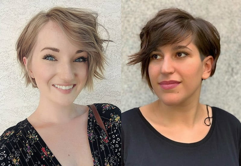 Long Pixie Cut for Oval Face