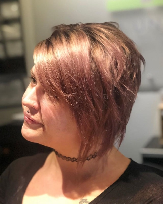 Asymmetrical Pixie with Layers