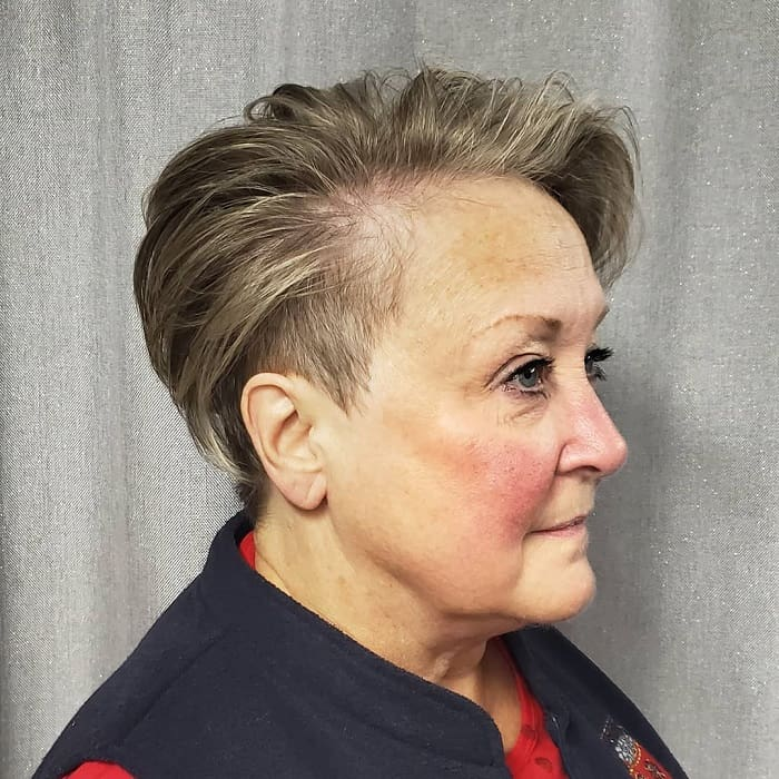 Pixie Haircuts for Older Woman