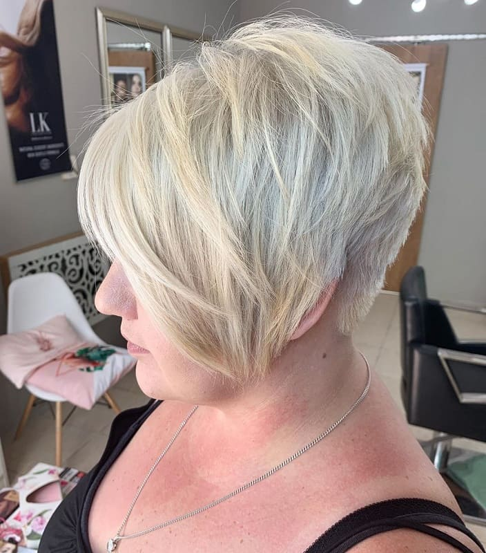 Layered Pixie Bob with Bangs