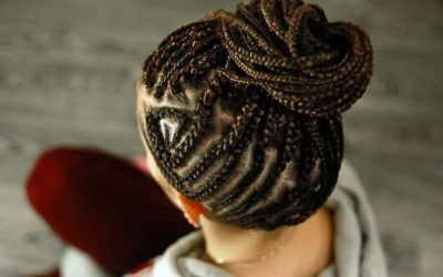 Cornrow braids for women