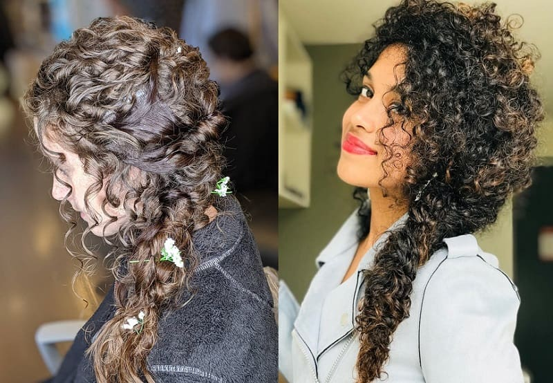 25 Flattering Braids For Curly Hair 2020 Guide Styledope
